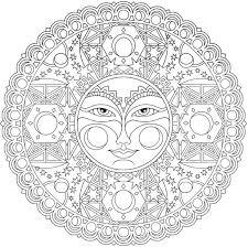 printable mandala drawing mediafoxstudio