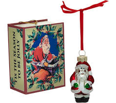 kringle express set of 5 tiny treasure ornaments with gift boxes