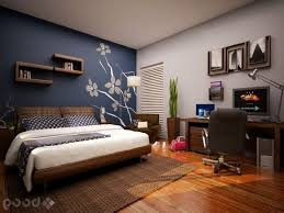 blue accent wall blue accent wall bedroom also cream blanket home interior