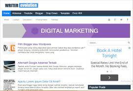 blogger atau blogspot writer evolution high ctr responsive blogger template