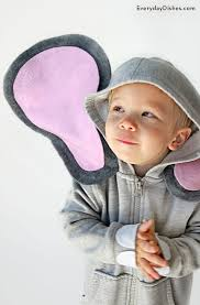 Elephant Halloween Costume Baby Halloween Diy Hoodie Elephant Costume Craft