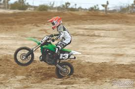 kids motocross bike motocross action magazine mxa u0027s 85cc shootout tc85 vs kx85 vs