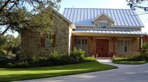 Small Texas Hill Country Home Design Porch Beams Stone - Texas hill country home designs