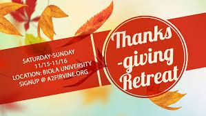 thanksgiving retreat acts2fellowship