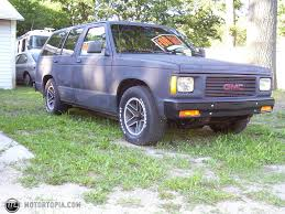 gmc jimmy 1994 1991 gmc jimmy specs and photos strongauto