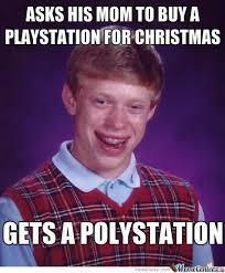 Christmas Present Meme - bad luck brian christmas gift by clane meme center