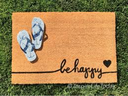 be happy coir doormat coir funny doormat welcome mat