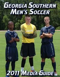 2011 georgia southern men u0027s soccer media guide by georgia southern