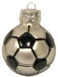 2 1 4 small glass soccer ornaments 6pcs signs
