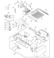 sxs ge fridge ice maker wiring diagram gshjgdd bb general electric