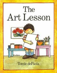 the art lesson by tomie depaola scholastic