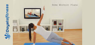 home workout programs days to fitness