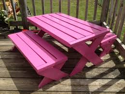 kids modern picnic table do it yourself home projects from ana