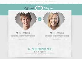 wedding web wedding slide responsive wedding invite by accurathemes