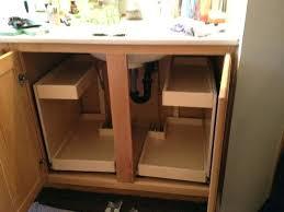 Organize Bathroom Cabinet by Organize Under Kitchen Sink Storage Under Cabinet Knife Storage