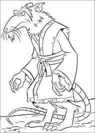 shredder tmnt coloring pages printables shredder