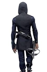 Dishonored Halloween Costume Dishonored 2 Game Corvo Attano Vest Movies Jacket