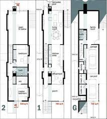narrow homes gallery of hill studio house cca centro de colaboración