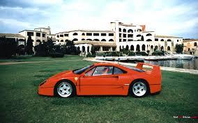 fastest ferrari legendary cars ferrari f40 gtspirit