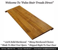 false stair treads wood tread caps in canada