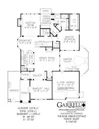 One Story Luxury Home Floor Plans by Rose Arbor Cottage House Plan House Plans By Garrell Associates