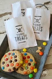 Halloween Goodie Bags Toxic Treats U2014halloween Treat Bags The Idea Room