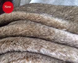 rabbit material wholesale quality faux fur 2cm pile imitation rabbit fur carpet