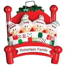 personalised family tree decorations rainforest