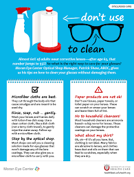 how to clean paper towel to clean your glasses no
