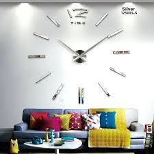 wall clocks canada home decor giant wall clocks hermelin me