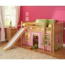 maxtrix low loft bed w staircase on end u0026 slide diy kids bed