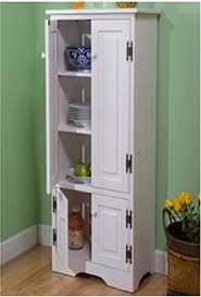 amazon com extra tall kitchen cabinet weathered white has one