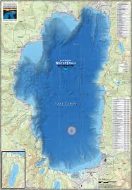 Jackson Hole Map Lake Tahoe Water Trail Map U0026 Guide California Adventure Maps