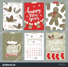 vector collection christmas poster templates christmas stock
