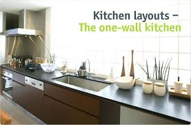 one wall kitchen with island designs single wall kitchen with island design single wall kitchen layout