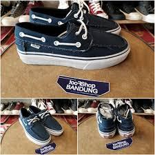 Jual Vans Zapato jual vans zapato barco navy premium free tas sepatu kaskus