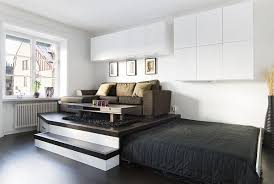 Platform Beds With Storage Underneath - clever and space saving beds which you can slide away and hide