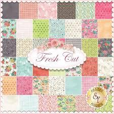 fresh cut charm pack by basicgrey for moda fabrics fresh cut is a