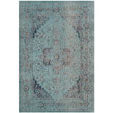 Huber Blue In Kitchen Safavieh Patina Taupe Blue 6 Ft 7 In X 9 Ft Area Rug Ptn324b 6