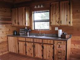 Distressed Kitchen Cabinets Pictures by Cabin Kitchen Cabinets Rigoro Us
