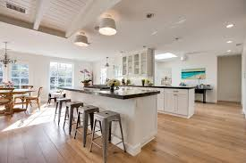 Hardwood Floors In Kitchen Espresso Hardwood Floors Kitchen Traditional With Caesarstone Grey