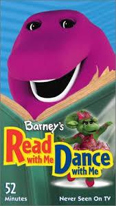 amazon barney u0027s dance vhs barney