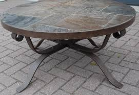 Wrought Iron Patio Coffee Table Breathtaking Round Wrought Iron Coffee Table U2013 Glass And Iron