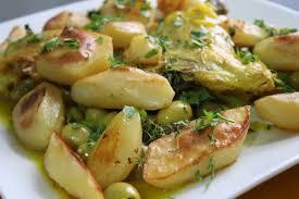 recettes cuisine alg駻ienne tajine de poulet aux olives