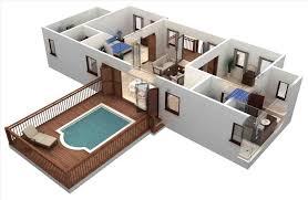 3d plans two bedroom apartment floor plans 3d fashionlite