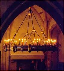 Real Candle Chandelier Lighting Medieval Candle Chandelier I Want It Pinterest