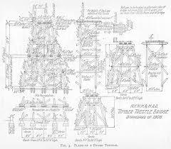 A Frame Blueprints Timber Bridges