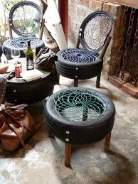 Repurpose Upcycle - diy rubber chair recycling projects tire recycle repurpose