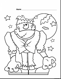 halloween coloring pages printables halloween coloring pages of frankenstein coloring pages