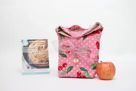 sac en toile personnalisable kit sac goûter lou goustaroun personnalisable jour de couture